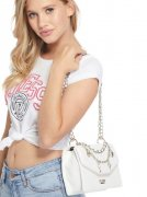 Kabelka GUESS ISOLA LAYERED CHAIN CROSSBODY