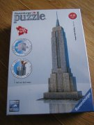 RAVENSBURGER 3D PUZZLE EMPIRE STATE BUILDING