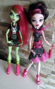 Monster High  Venus a Draculaura