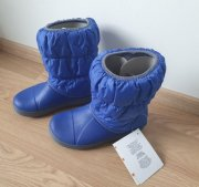 SNĚHULE CROCS WINTER PUFF BOOT KIDS J1 32-33 IHNED