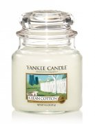 YANKEE CANDLE CLEAN COTTON CLASSIC MALÝ
