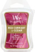 Red currant Cedar vonný vosk Woodwick