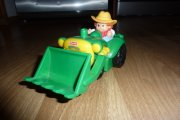 Zvukový traktor John Deere Little people nerozbitn