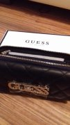 GUESS PENĚŽENKA SWEET CANDY WALLET / Black