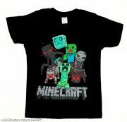 Triko Minecraft ve vel.128 až 2XL