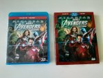 Blu-ray film 3D + 2D Marvel´s the Avengers