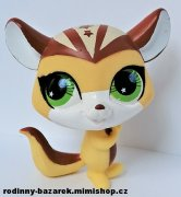 LITTLEST PET SHOP čipmánek veverka LPS 2692