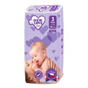 plenky New Love Premium comfort 3 MIDI 4-9 kg 48