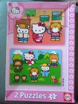 Hello Kitty puzzle 2x 24dílků