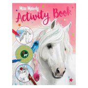 Omalovánky MISS MELODY Activity Book