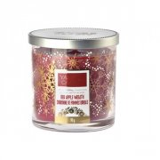 Red apple wreath malý decor Yankee candle