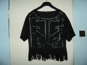 Crop top s cvoky zn. Reserved vel. M