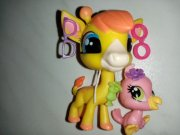 LPS - Littlest Pet Shop - žirafa s ptáčkem