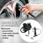 @@@ Mini kompresor do auto zapalovače FY-004 @@@