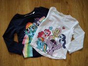 2x triko My Little Pony H&M, vel. 92
