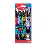 Pastelky Maped Color´Peps Monster!/12ks