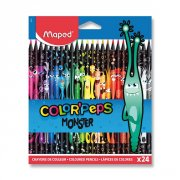 Pastelky Maped Color´Peps Monster!/24ks