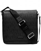 Pánský messenger Michael Kors Men´s Black Jet Set