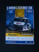 oficiální program Barum Czech Rally Zlín 2019