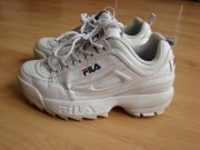 BOTY FILA DISRUPTOR LOW WHITE