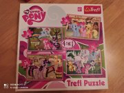 Puzzle My Little Pony 4v1