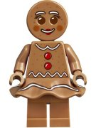LEGO® GINGERBREAD WOMAN PERNÍČEK